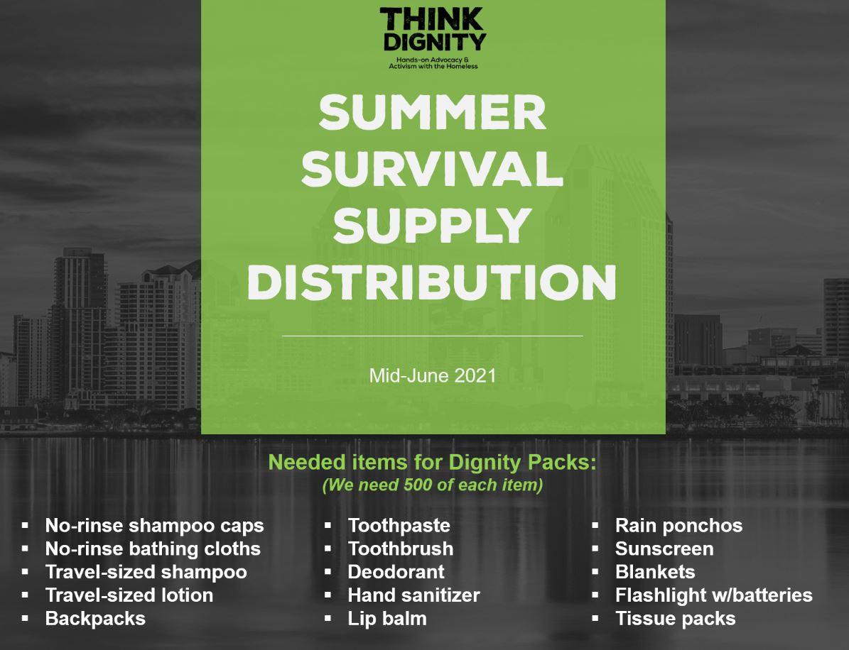 Survival Supply Distribution
